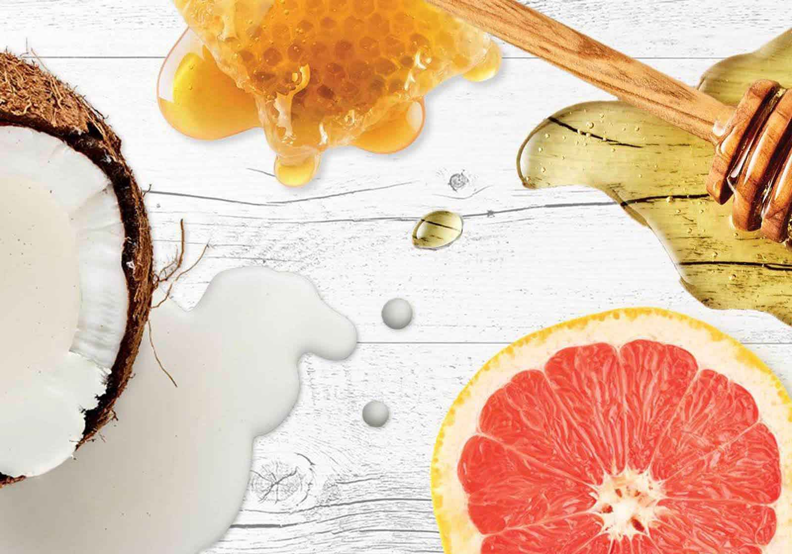 benefits-of-grapefruit-honey-and-coconut-oil-for-your-hair