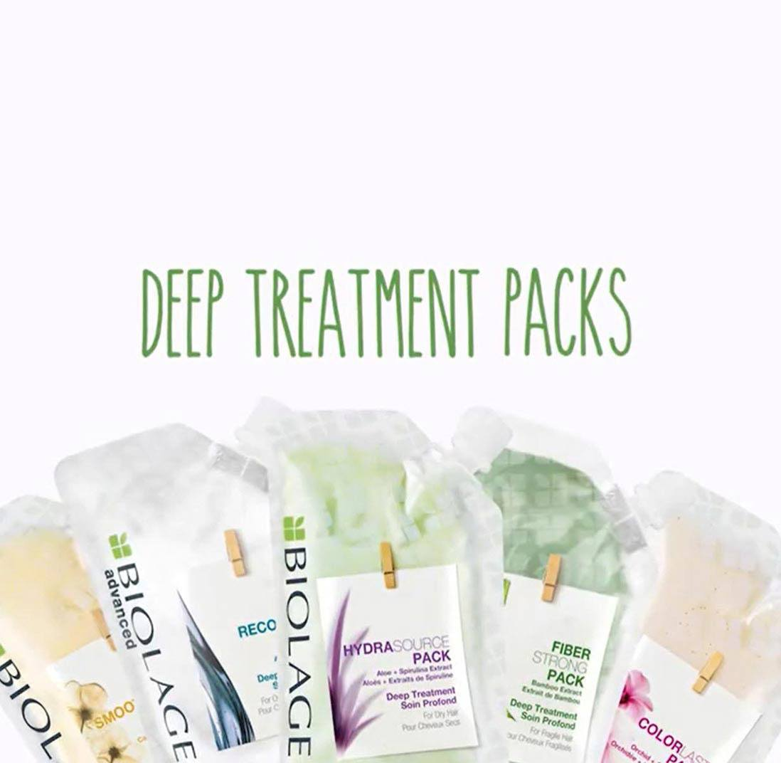 Biolage Deep Treatment Packs video